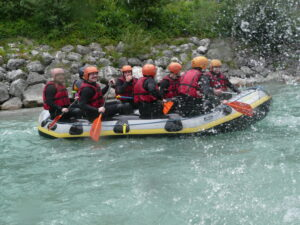 Ausflug Rafting aqotec