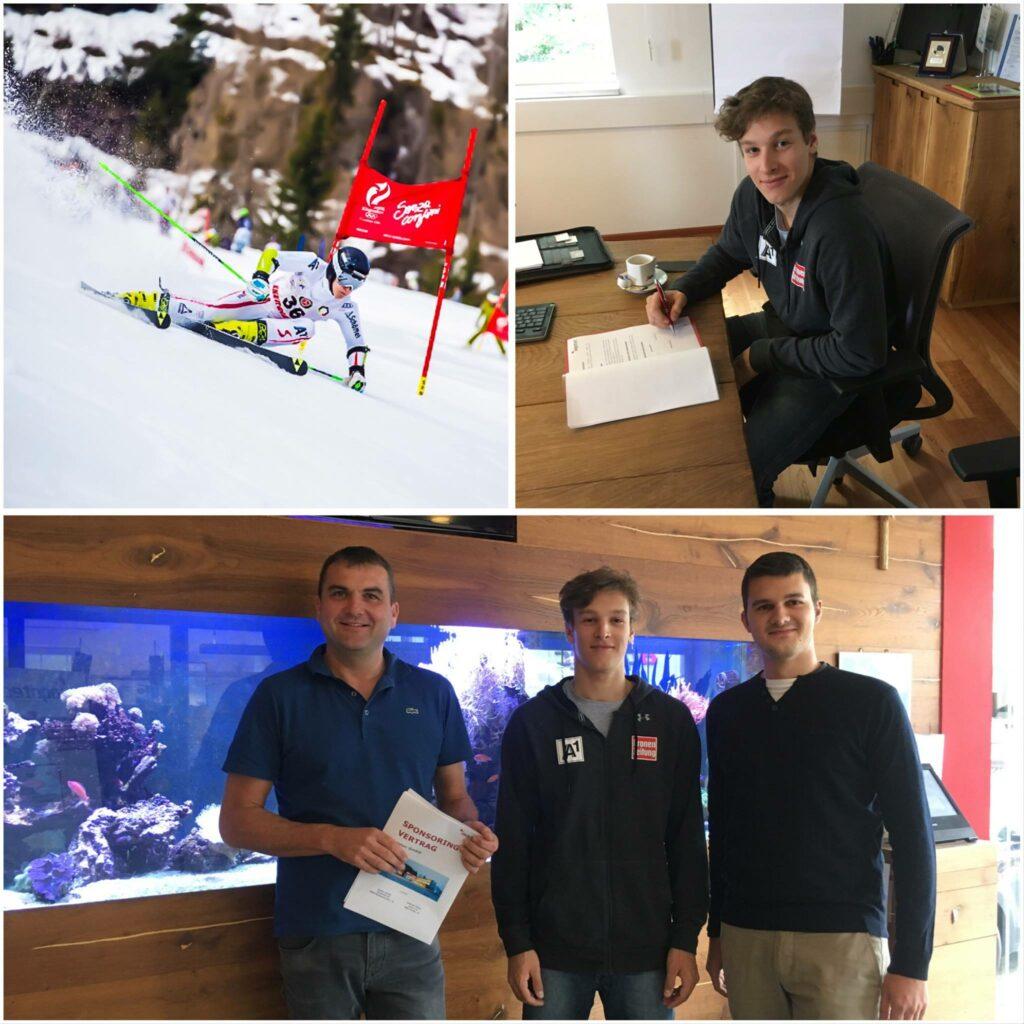 Sponsoring aqotec Andreas Ploier ÖSV Skifahrer