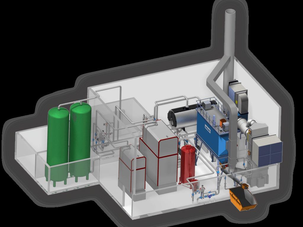 Fernwärme Heizwerk Hersteller